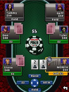 Mobile game World Series Of Poker: Hold'em Legend - screenshots. Gameplay World Series Of Poker: Hold'em Legend