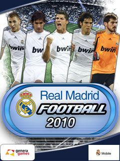 Download free mobile game: Real Madrid Football 2010 - download free games for mobile phone