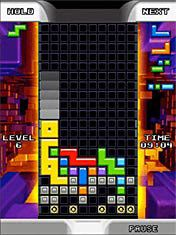 Mobile game Tetris Mania - screenshots. Gameplay Tetris Mania