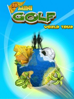 3D Mini Golf World Tour game ponsel Java jar