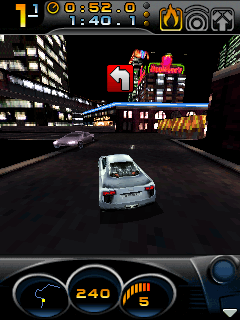 Mobile game Need for Speed: Carbon 3D - screenshots. Gameplay Need for Speed: Carbon 3D