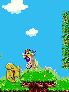 Mobile game Rayman 3 - screenshots. Gameplay Rayman 3