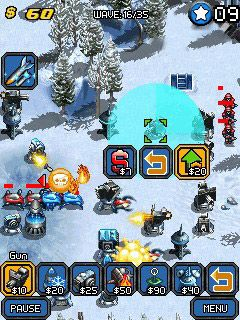 Mobile game Mega Tower Assault - screenshots. Gameplay Mega Tower Assault