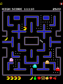Mobile game Ms. PAC MAN - screenshots. Gameplay Ms. PAC MAN