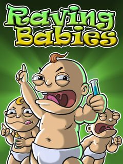 Mobile game Raving Babies - screenshots. Gameplay Raving Babies