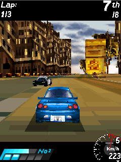 Mobile game Asphalt Urban GT 3D - screenshots. Gameplay Asphalt Urban GT 3D