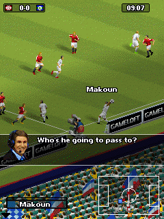 Mobile game Real Football 2011 online - screenshots. Gameplay Real Football 2011 online