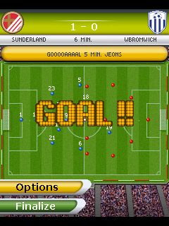 Mobile game Play Football Manager 2011 - screenshots. Gameplay Play Football Manager 2011