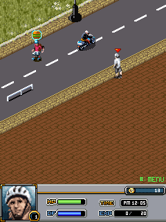 Mobile game ESPN X-Games Inline Skate - screenshots. Gameplay ESPN X-Games Inline Skate