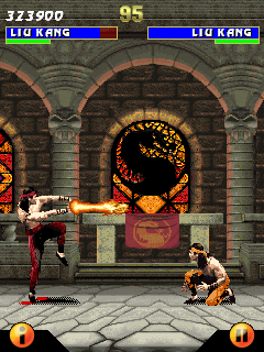 Mobile game Ultimate Mortal Kombat 3 - screenshots. Gameplay Ultimate Mortal Kombat 3