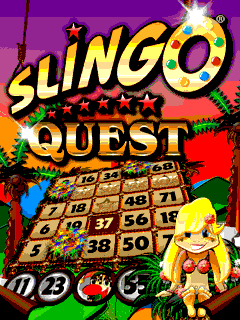 Mobile game Slingo quest - screenshots. Gameplay Slingo quest