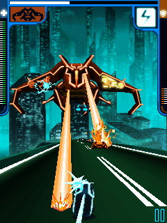 Mobile game Tron Legacy - screenshots. Gameplay Tron Legacy