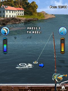 Mobile game Bass Fishing Mania 3 - screenshots. Gameplay Bass Fishing Mania 3