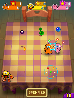 Mobile game Pac-Man Party - screenshots. Gameplay Pac-Man Party