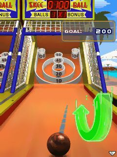 Mobile game SkeeBall - screenshots. Gameplay SkeeBall