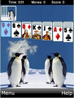 Mobile game Solitaire Hd - screenshots. Gameplay Solitaire Hd