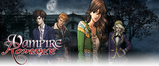 Mobile game Vampire Romance - screenshots. Gameplay Vampire Romance