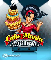 Download free mobile game: Cake Mania: Celebrity Chef - download free games for mobile phone