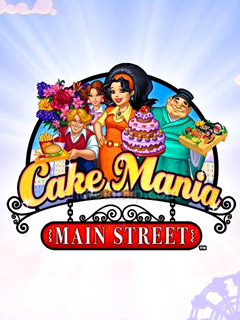 Mobile game Cake Mania: Main Street - screenshots. Gameplay Cake Mania: Main Street