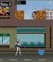 Mobile game Robocop - screenshots. Gameplay Robocop