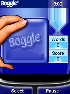 Mobile game Boggle - screenshots. Gameplay Boggle