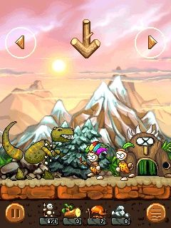 Mobile game Tribia: Prehistoric Tribes - screenshots. Gameplay Tribia: Prehistoric Tribes