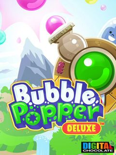 Download free mobile game: Bubble Popper Deluxe - download free games for mobile phone