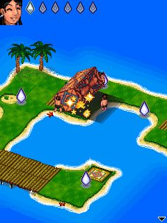 Mobile game Diamond Islands - screenshots. Gameplay Diamond Islands