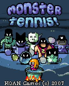 Download free mobile game: Monster Tennis - download free games for mobile phone