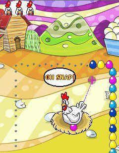 Mobile game Crazy Chicken - screenshots. Gameplay Crazy Chicken