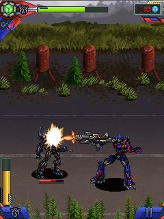 Mobile game Transformers Dark of the Moon - screenshots. Gameplay Transformers Dark of the Moon