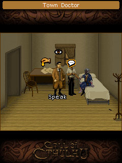 Mobile game The Call Of Cthulhu: Darkness within - screenshots. Gameplay The Call Of Cthulhu: Darkness within