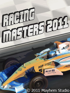 Download free mobile game: Racing Masters 2011 - download free games for mobile phone