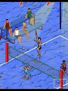 Mobile game Beach Volleyball - screenshots. Gameplay Beach Volleyball