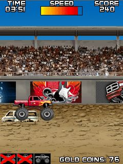 Mobile game Monster Truck Muddle - screenshots. Gameplay Monster Truck Muddle