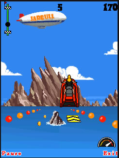 Mobile game Jet Ski - screenshots. Gameplay Jet Ski