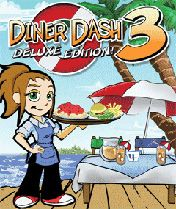 Mobile game Diner Dash 3 Deluxe Edition - screenshots. Gameplay Diner Dash 3 Deluxe Edition