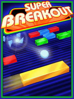Download free mobile game: Super breakout - download free games for mobile phone