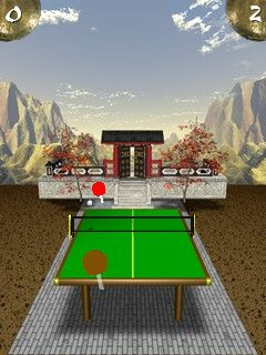 Mobile game Zen Table Tennis - screenshots. Gameplay Zen Table Tennis