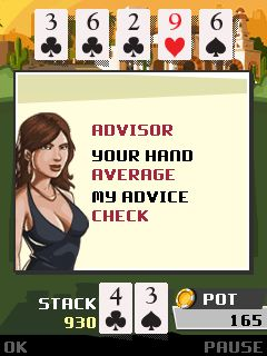 Mobile game Downtown Texas Holdem - screenshots. Gameplay Downtown Texas Holdem