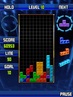 Mobile game Tetris Marathon - screenshots. Gameplay Tetris Marathon