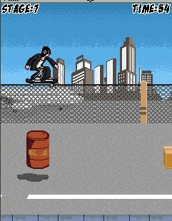 Mobile game Skateboard - screenshots. Gameplay Skateboard
