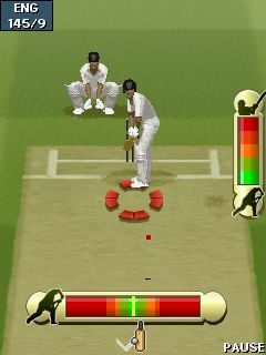 Mobile game EA Cricket 2011 - screenshots. Gameplay EA Cricket 2011