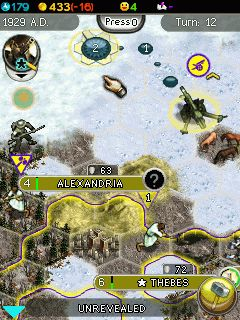 Mobile game Sid Meiers Civilization 5 The Mobile Game - screenshots. Gameplay Sid Meiers Civilization 5 The Mobile Game