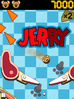 Mobile game Tom and Jerry Pinball Pursuit - screenshots. Gameplay Tom and Jerry Pinball Pursuit