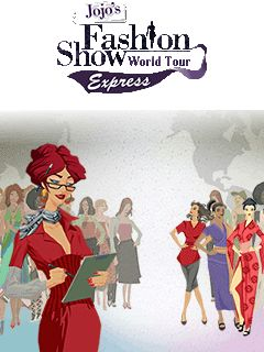 Download free mobile game: JoJo's Fashion Show 3: World Tour Express - download free games for mobile phone