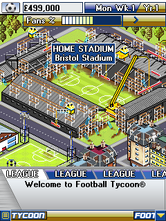 Mobile game Football Tycoon - screenshots. Gameplay Football Tycoon