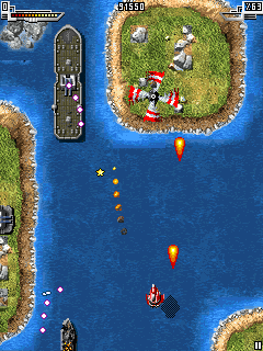 Mobile game Sky force - screenshots. Gameplay Sky force