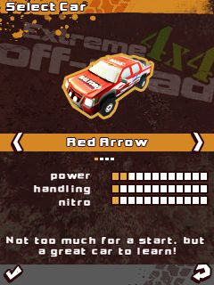 Mobile game Extreme 4x4 Off-Road - screenshots. Gameplay Extreme 4x4 Off-Road