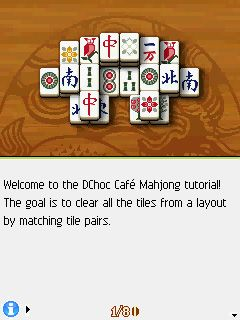 Mobile game DChoc Cafe Mahjong - screenshots. Gameplay DChoc Cafe Mahjong